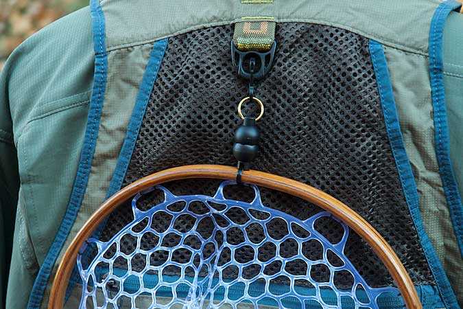 Magnetic Net Release for Fly Fishing Net by Tight Line