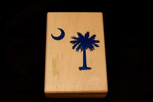South Carolina Fly Box - Stonefly Nets - Wood Fly Box