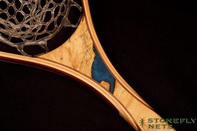 Buckeye Burl Landing Net - Stonefly Nets - Wood Landing Net