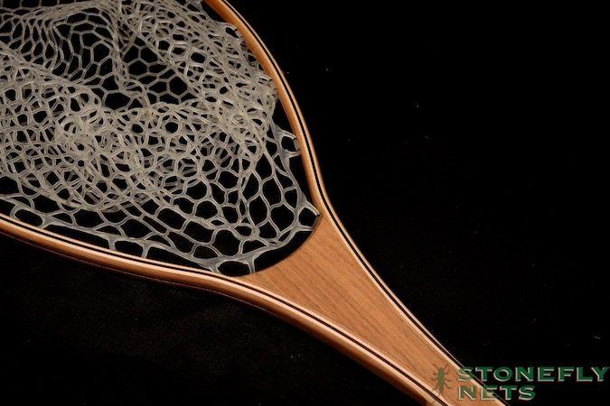 Rosewood River Landing Net - Stonefly Nets - Wood Landing Nets.