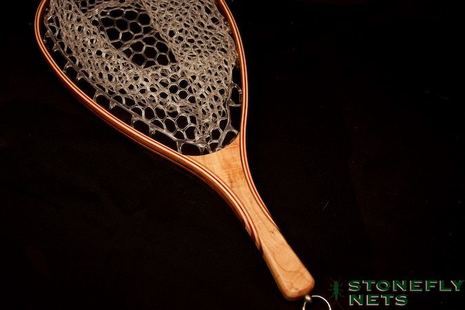 Ambrosia Maple Landing Net - Stonefly Nets - Wood Landing Nets