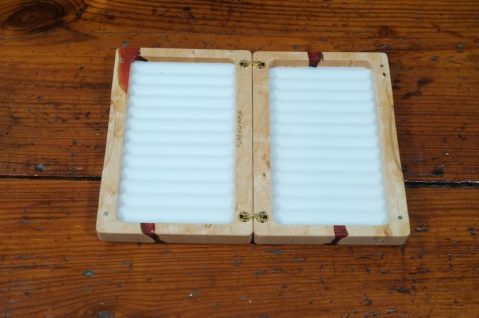 Birdseye Maple Fly Box - Stonefly Nets - Wood Fly Boxes - Landing Nets