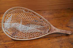 Redwood Burl Landing Net - Stonefly Landing Nets - Wood Landing Net