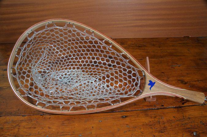 Rosewood w/ Duck Landing Net - Stonefly Nets - Wood Landing Nets