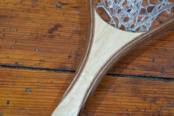 Birdseye Maple Brookie Landing Net - Stonefly Nets - Wood Landing Nets