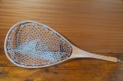 Curly Cherry Landing Net - Stonefly Nets - Wood Landing Nets - Fishing Nets