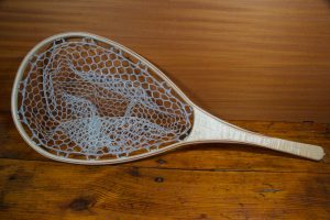 Tiger Maple Landing Net - Stonefly Nets - Wood Landing Nets - Fishing Nets