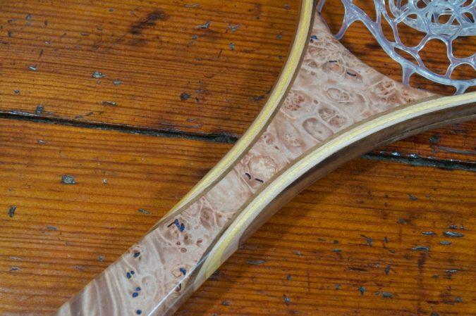 Maple Burl Landing Net - Stonefly Nets - Wood Landing Nets