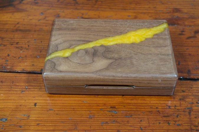 Walnut Fly Box - Stonefly Nets - Wood Fly Boxes - Landing Nets
