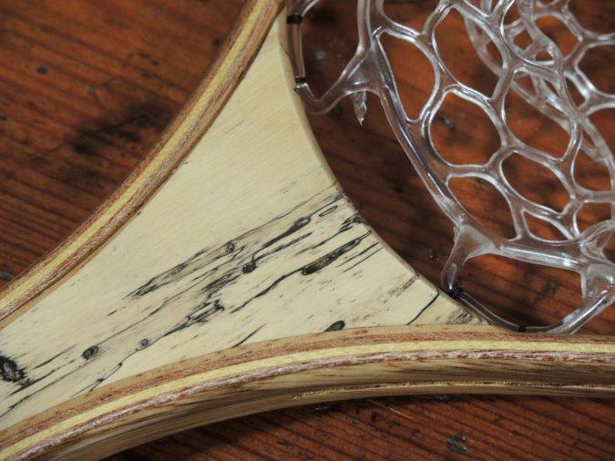 Spalted Tamarind 2 - Stonefly Nets - Wood Landing Net - Fishing Nets