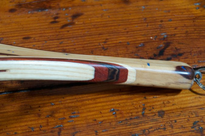 Spalted Tamarind - Stonefly Nets - Wood Landing Net - Fishing Nets