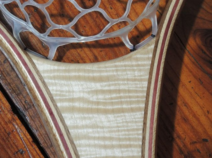 Tiger Maple River Landing Net - Stonefly Nets - Wood Landing Nets