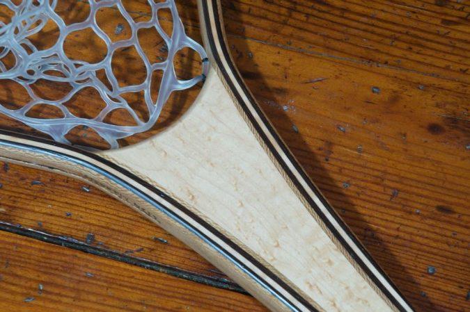 Birdseye Maple River Landing Net - Stonefly Nets - Wood Landing Nets - Fishing Nets