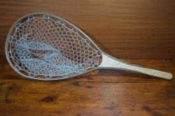 Birdseye Maple River Landing Net - Stonefly Nets - Wood Landing Nets - Fishing Nets
