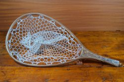 Spalted Maple Burl Landing Net - Stonefly Landing Nets - Wood Landing Net