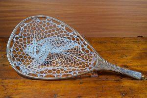 Spalted Maple Burl Landing Net - Stonefly Landing Nets - Wood Landing Net