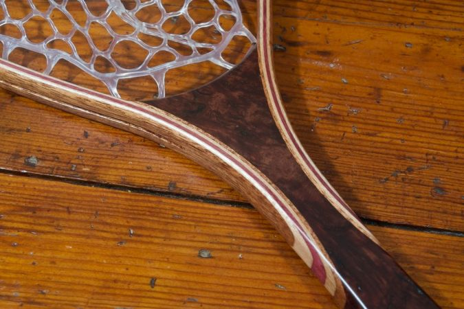 Asian Burl Landing Net- Stonefly Nets - Wood Landing Nets - Fishing Net