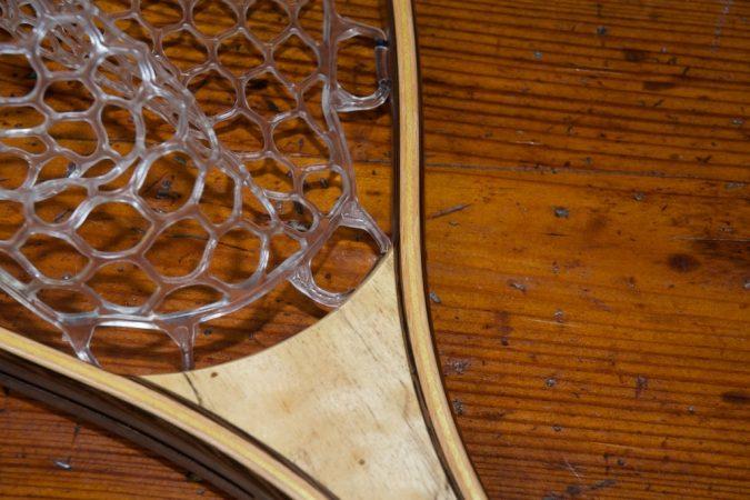 Spalted Tamarind Bison Net - Stonefly Nets - Wood Landing Net