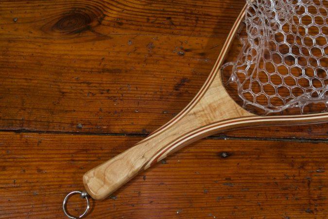 Figured Maple Landing Net – Stonefly Nets - Custom Wood Landing Nets
